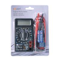 Solight multimetr, max. AC 500V, max. DC 500V / 10A, test diody, bzučák